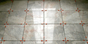 How to remove stains from marble tile floor
