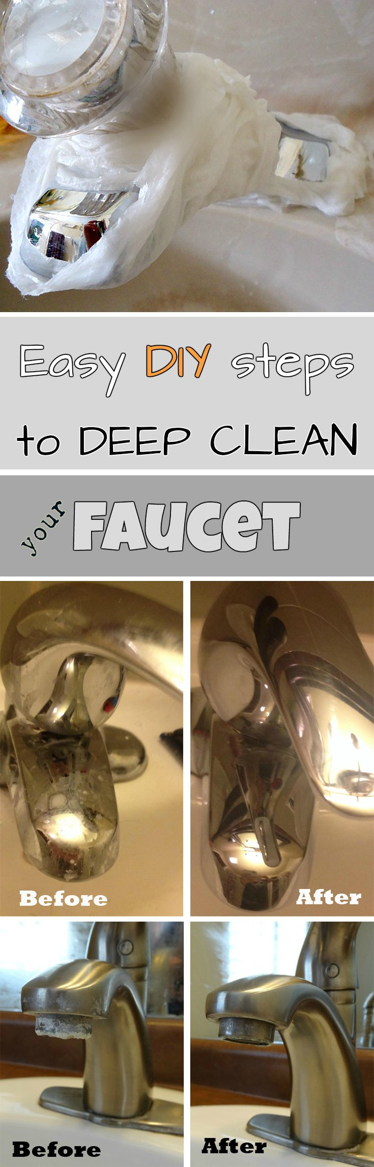 Easy Diy Steps To Deep Clean Your Faucet