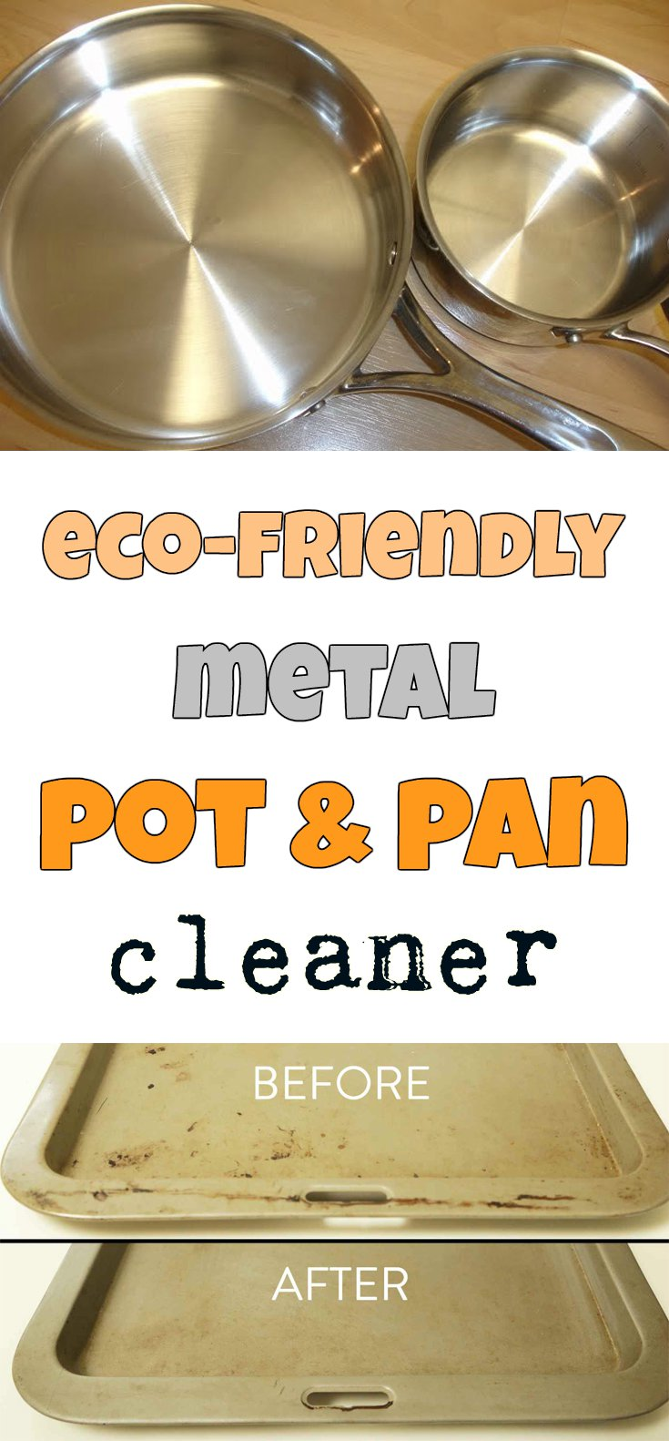 Eco Friendly Metal Pot And Pan Cleaner