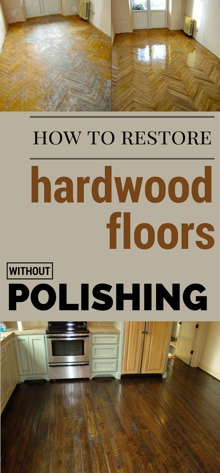 How to restore hardwood floors without polishing for How to clean polished floors