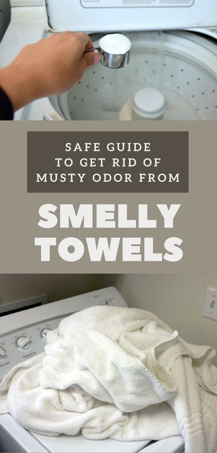 Safe Guide To Get Rid Of Musty Odor From Smelly Towels