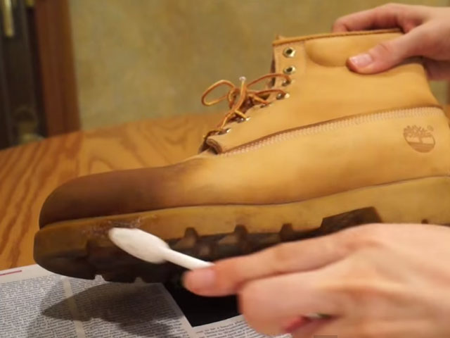 clean timberland