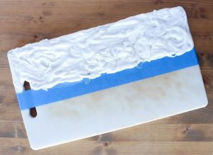 Baking Soda Paste To Remove Blood And Vegetable Stains From Plastic Cutting Boards